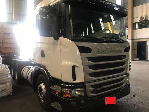 Caminhão Scania G420, 6x4, Bug Leve