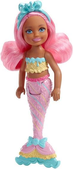 Barbie Fantasy Chelsea Sirena - Sweetsville Fkn03-fkn04