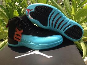 Tenis Air Jordan 12 Retro Gamma Blue Original