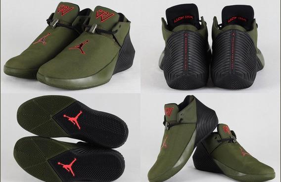 Tenis Nike Jordan Why Not Zero Verde Militar