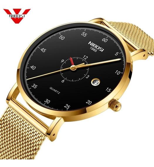 Relógio Feminino Nibosi Original Provad