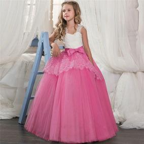 c459b7eb1 Vestido De Bautizo Para Niña De 6 Años - Ropa, Bolsas y Calzado en ...