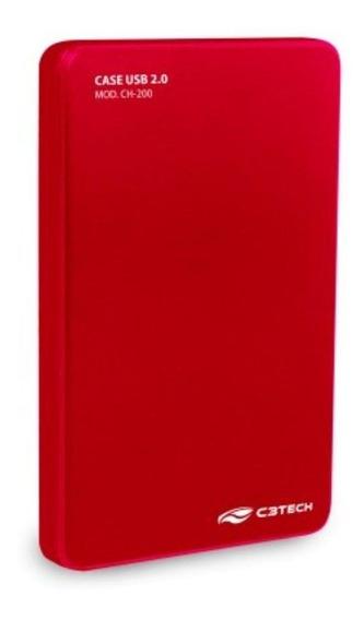 Case Gaveta Externa Hd Sata Notebook 2.5 Pc Xbox 360 C3 Tech
