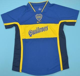 Camisa Retrô Boca Juniors (argentina) 2001 - Uniforme 1