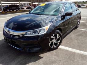 Honda Accord 2016 Lx, Negro, Recién Importado