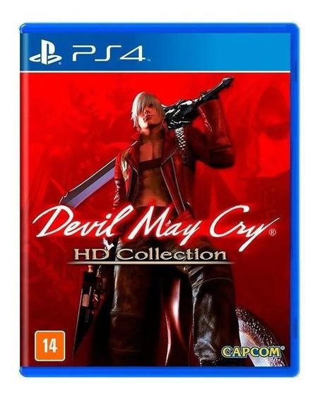 Devil May Cry - Hd Collection - Ps4 - Mídia Física (lacrado)