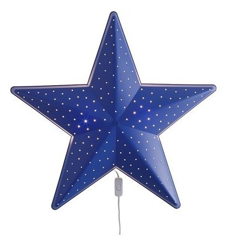 Lampara Pared Estella Azul Smila Stjärna Ikea