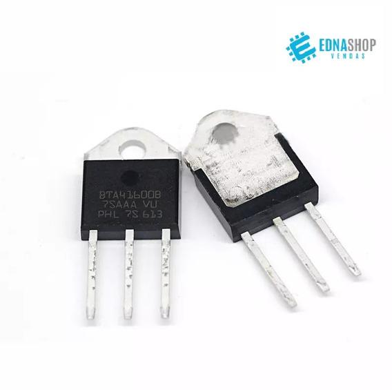 Bta41600b Tiristor Triac 40a 600v Bta 41600 Original (c/ 3 Pçs)