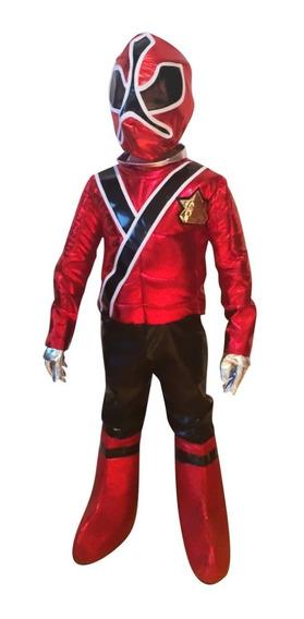 Disfraz Power Ranger Rojo Niño Envío Gratis