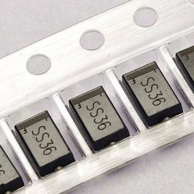 Diodo - Ss36 - Smd - Do214ab - 3a/60v - Schottky (20pçs)