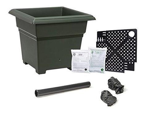 Imagen 1 de 6 de Earthbox Novedad 81701 Kit De Jardin Blanco
