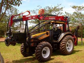 Grúa Forestal Penzsaur 5.53w Para Tractor - Oscar Bertotto