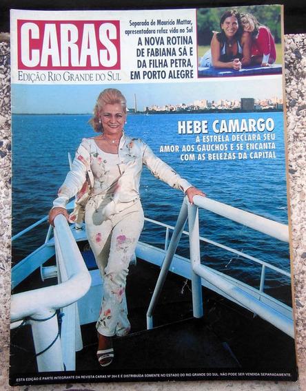 Revista Caras Rs 17 Hebe Camargo Adriana Calcanhoto 1998
