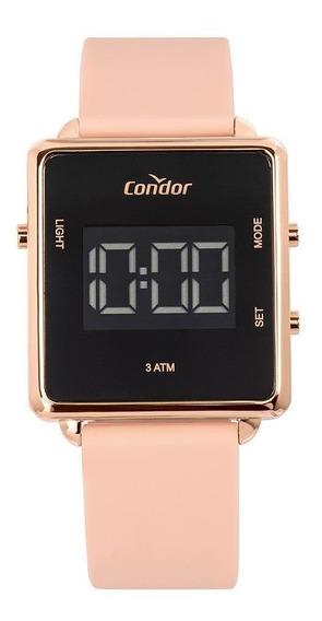 Relógio Condor Feminino Digital Trendy Rosé Cobjf156af/2j