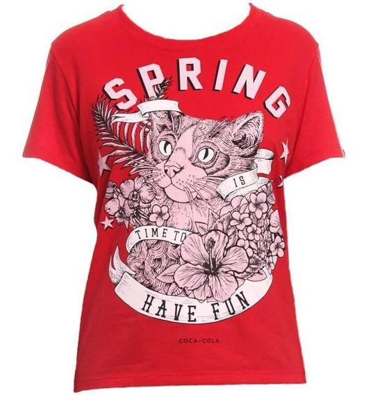 Camiseta Coca-cola Original Básica Com Aroma 343202398