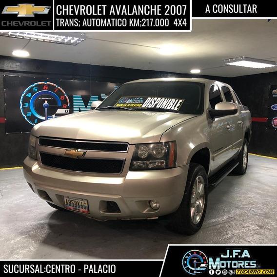 Chevrolet Avalanche Pick Up/ Doble Cabina