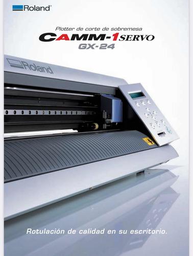 Plotter De Corte Roland Gx-24 Camm1-servo