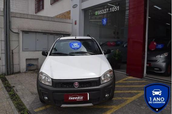Fiat Strada 1.4 Mpi Hard Working 2017 Cs