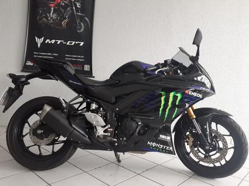 Yamaha Yzf R3 Monster Abs 2020 Preta
