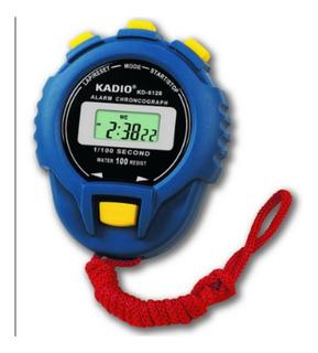 Cronometro Profesional,digital Kadio Kd-6128, Reloj,alarma