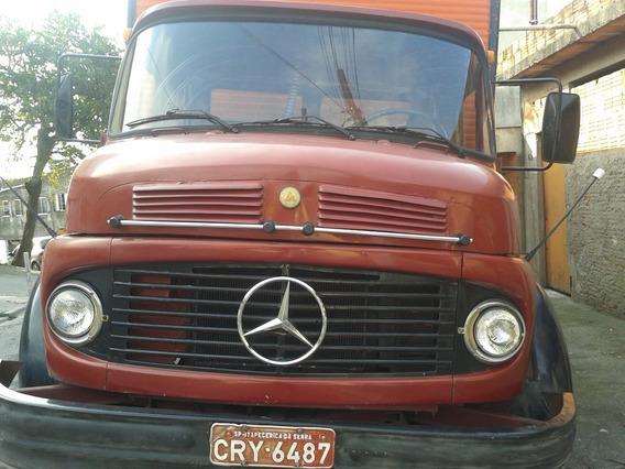 Mercedes-benz Mb 1113 Baú De Alumínio Toco Turbinado Rodoar