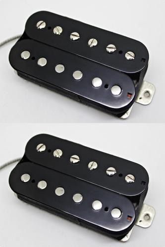 Micrófono Diliberto H59 - Set Humbucker Negro