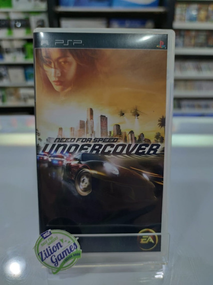 Need For Speed Undecover Sony Psp - Completo