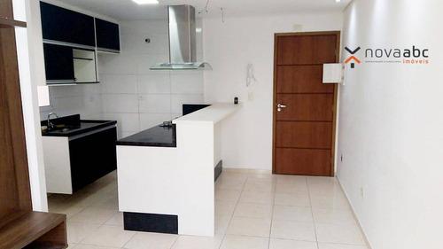 Imagem 1 de 27 de Cobertura Com 2 Dormitórios À Venda, 45 M² Por R$ 280.000,00 - Jardim Santo Alberto - Santo André/sp - Co1029