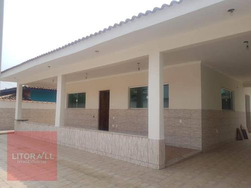 Imagem 1 de 17 de Casa À Venda, 136 M² Por R$ 650.000,00 - Praia Do Sonho - Itanhaém/sp - Ca1601