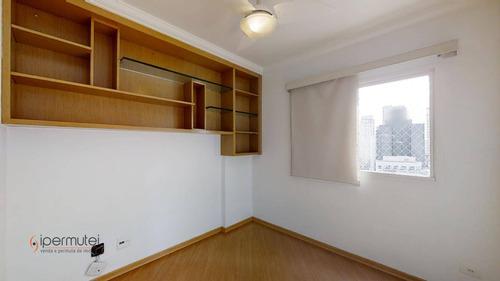 Ótimo Apartamento Com 2 Dormitórios À Venda, 60 M² - Moema - São Paulo/sp - Ap1519