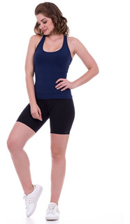Bermuda Fitness K2b Cós Alto Suplex Feminina