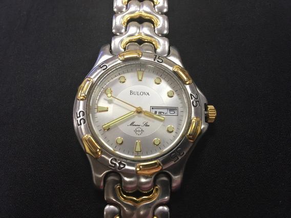 Relógio Bulova 98c31 Marine Star 100m