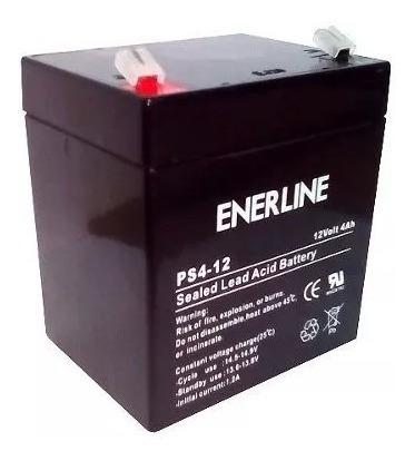 Bateria Pila 12 Voltios 4 Amperios Para Ups, Cerco Electrico