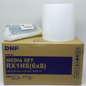 Papel Fotográfico Dnp Rx1 15x20 (6x8)