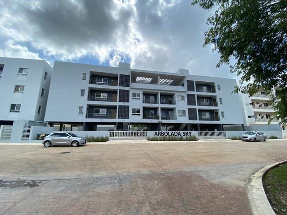 Departamento Amueblado En Arbolada Cancún
