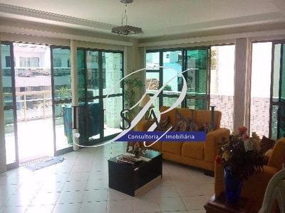 Recreio, Lucio Costa, Apartamento Duplex, 3 Quartos, Lazer, 3 Vagas - Ap00584