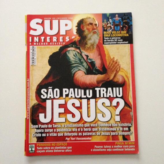 Revista Super Interessante São Paulo Traiu Jesus N°195