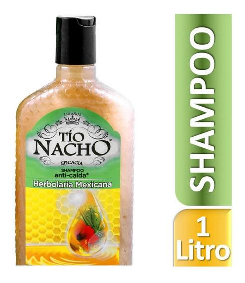 Shampoo Tío Nacho Herbolaria Mexicana 1 L Genomma Lab