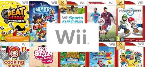 Juegos De Nintendo Wii Disco Fisico