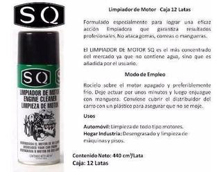 Limpia Motor Sq, Oferta!!!!!