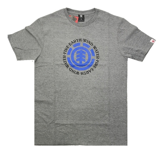 Remera Element Hombre Seal Colors Tee Meremstc Cgr
