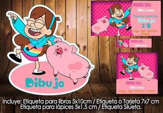 Kit Imprimible Escolares Mabel Gravity Falls Kdkt0220e77