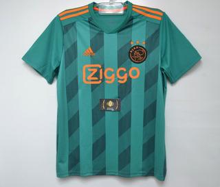 Camisa Oficial Do Ajax Holandês Nova Oficial - Champions