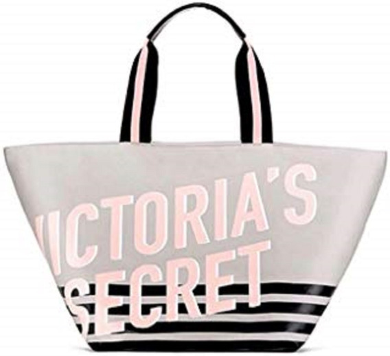 Bolso Victoria S Secret Con Cierre Grande Original Etiqueta