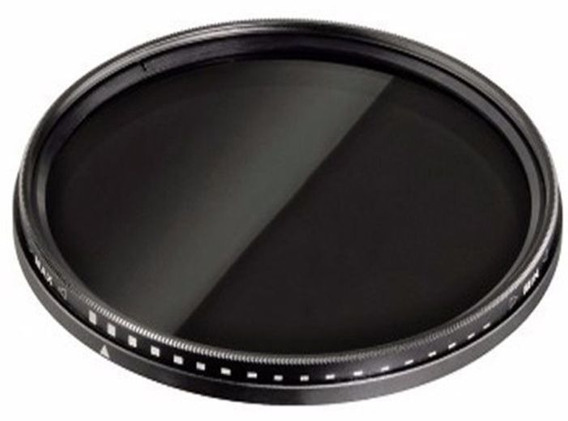 Filtro Nd Densidade Neutra Variavel De Nd2 Até Nd400 55mm