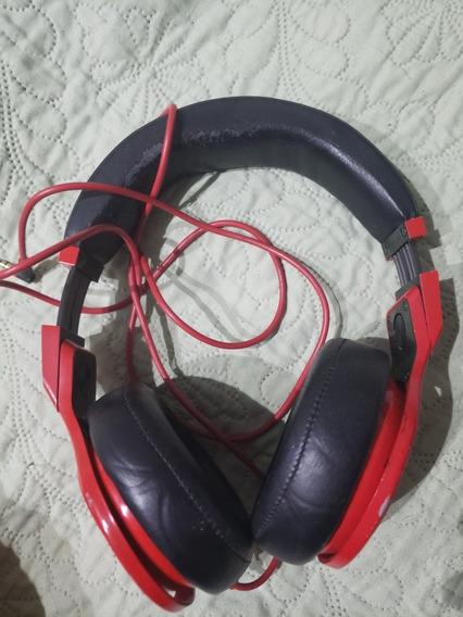 Beats Pro Vermelho E Preto