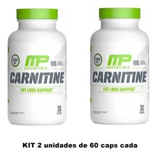 Carnitine Musclepharm 60 Caps Importado Muscletech Nutrex