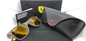 Óculos Sol Ray-ban Scuderia Ferrari Rb4195-f608/6b Original