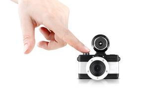 Camera Lomography Fisheye Baby 110 Metal
