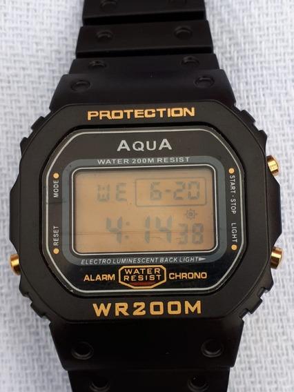 Relógio Bolsonaro Presidente 2018 Á Prova Dágua Digital Aqua